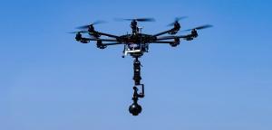 360 Grad Film Drohne